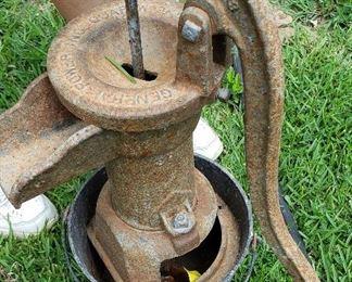 rusty-dusty pump - needs TLC