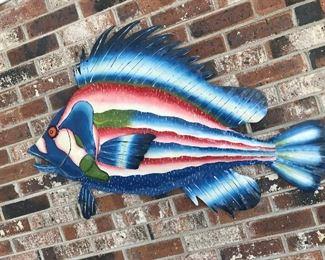 Metal Fish Hanging $ 46.00