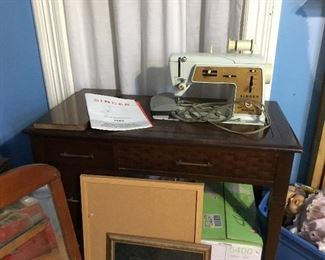 Singer sewing machine, 1 of 3 for sale