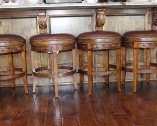 Set of 4 Hillsdale barstools