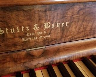 Stultz & Bauer Upright Grand Piano