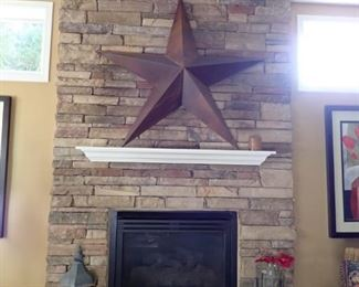 LARGE WALL STAR - LANTERN