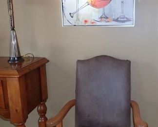 ARMED SIDE CHAIRS