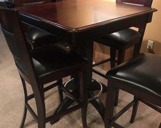 PUB TABLE & CHAIRS