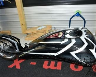5. SpiderMan Venom Motorcycle Trailer