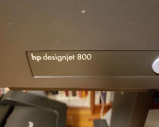 HP Design Jet 800 Printer - Please call 845-713-4514 for Presale Pricing