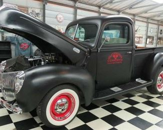 1941 Ford Truck V-8 Flathead 3 Speed on Floor, 500 Miles New Engine