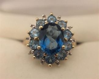 """London Blue"" Topaz Ring https://ctbids.com/#!/description/share/225535"