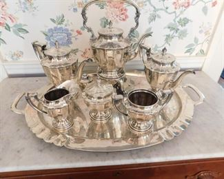 Sterling Sansborns ( Mexico ) Coffee/Tea Set