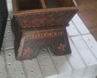 wooden decorative piece $40