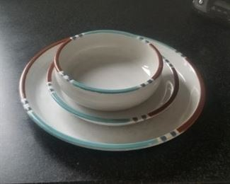dishes and glasses available