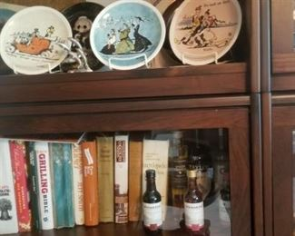 collectible plates with COAs