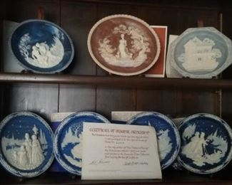 plates with COA