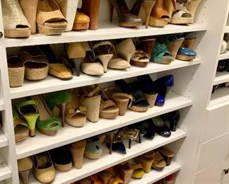 Awesome selection of designer shoes sizes 7-8