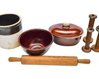 1. Group Lot Vintage Kitchen Accessories CROCKCOOKWARE