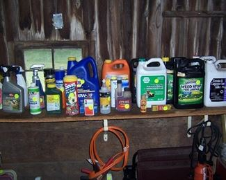 CAR AND GARDEN CHEMICALS