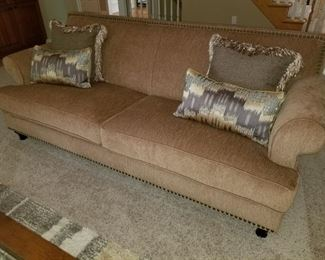 Pair of matching full size sofa's