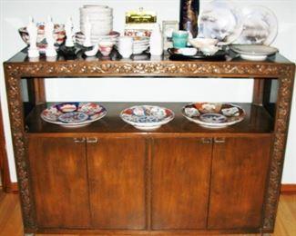 Romweber MCM matching buffet server. Matched china cabinet  BUY IT NOW $ 365.00