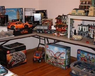 Extensive collection of Lego's