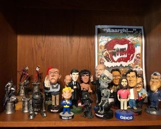 Bobble heads anyone...great for gifts
