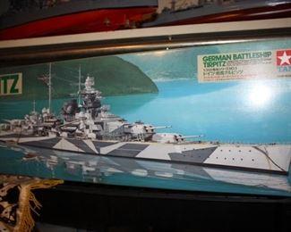 German Battleship Tirpiz