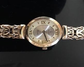 Vicence 14K gold watch