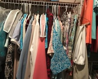 A  TINY portion of the ladies clothes