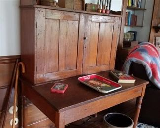 Antique plantation desk