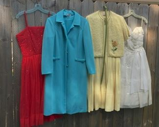Awesome vintage clothes.... this is just a sneak peak of 50s, 60s, 70s clothes and accessories