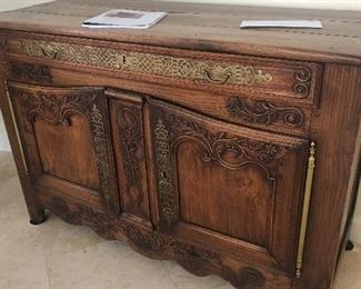 Fantastic continental Buffet Cabinet  - french country 1700's