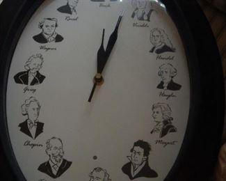 The musician clock.