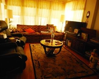 Living Room..Day I was there No electric in building..am assuming its fixed!