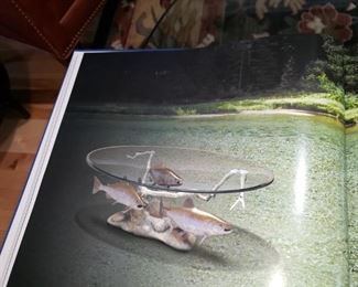 The beautiful Artist's Coffee Table by Dale J Evers.