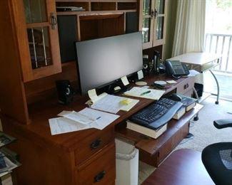 Mission Desk Cabinet
