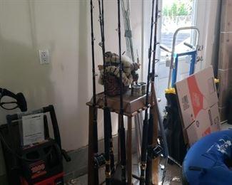 Fishing Poles and Equipment