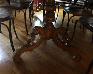 Gorgeous Alfonso  Marina dining table with one leaf