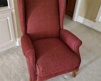 Lazy boy Queen Anne style reclining chair