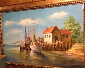 Waterfront art