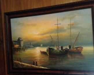 More boat art by Max Savy
