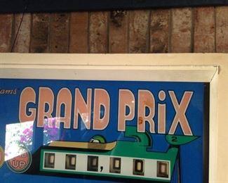 """""""Grand Prix"""" pinball machine"""