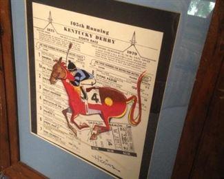 165th Kentucky Derby souvenir
