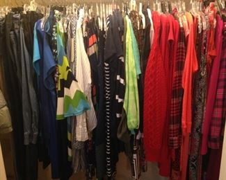 Lady clothes selections