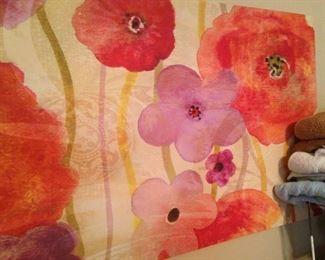 Big flower art