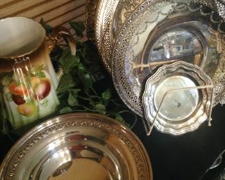 Some of the silver plate selections