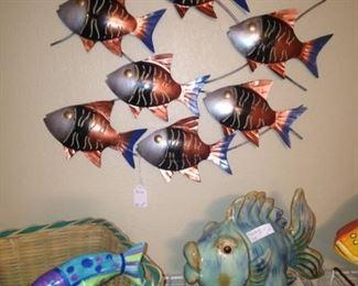 Fun fish decor .   .   .
