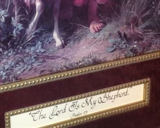 """""""The Lord is my Shepherd"""" - Psalm 23"""