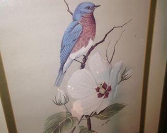 Bird art by Art Lamay