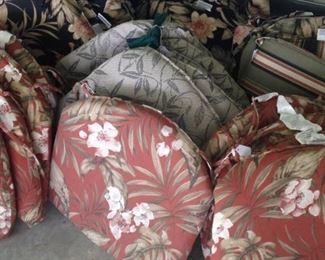 More patio furniture cushions