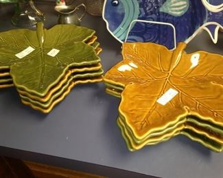 Autumn is on its way, so pull out the green and gold pie  plates.