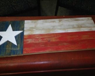 Red, white, and blue from the Lone Star State